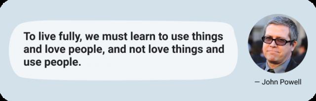 John Powell quote