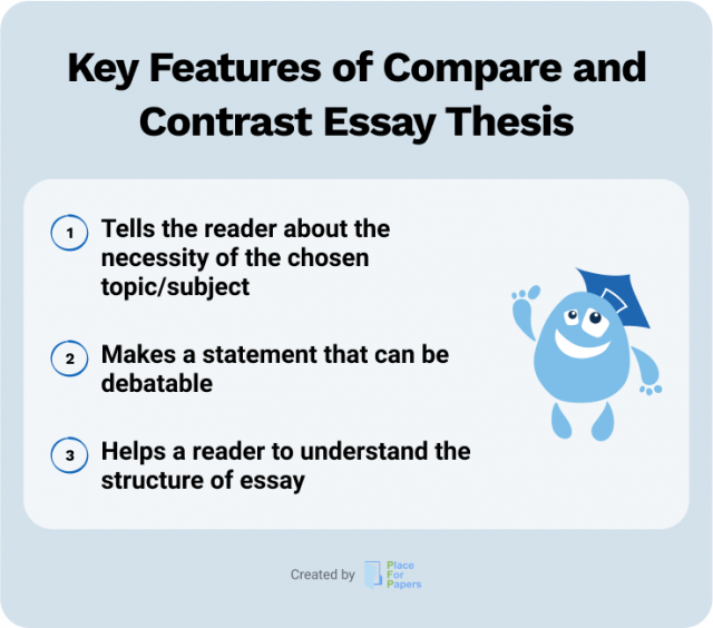 Key Features of Compare and Contrast Thesis