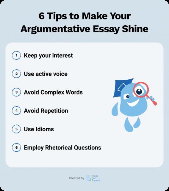 6 Tips to Make Your Argumentative Essay Shine